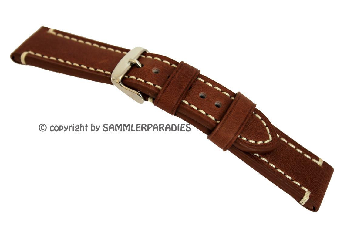 bracelet montre cuir 18mm 20mm 22mm 24mm pour homme. Black Bedroom Furniture Sets. Home Design Ideas